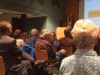 Homer Residents Attending Diversifying Revenues Town Hall Meeting - Photo by Quinton Chandler/KBBI