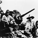 Japanese Tank Crew on Kiska - Image Courtesy of the National Library of Medicine